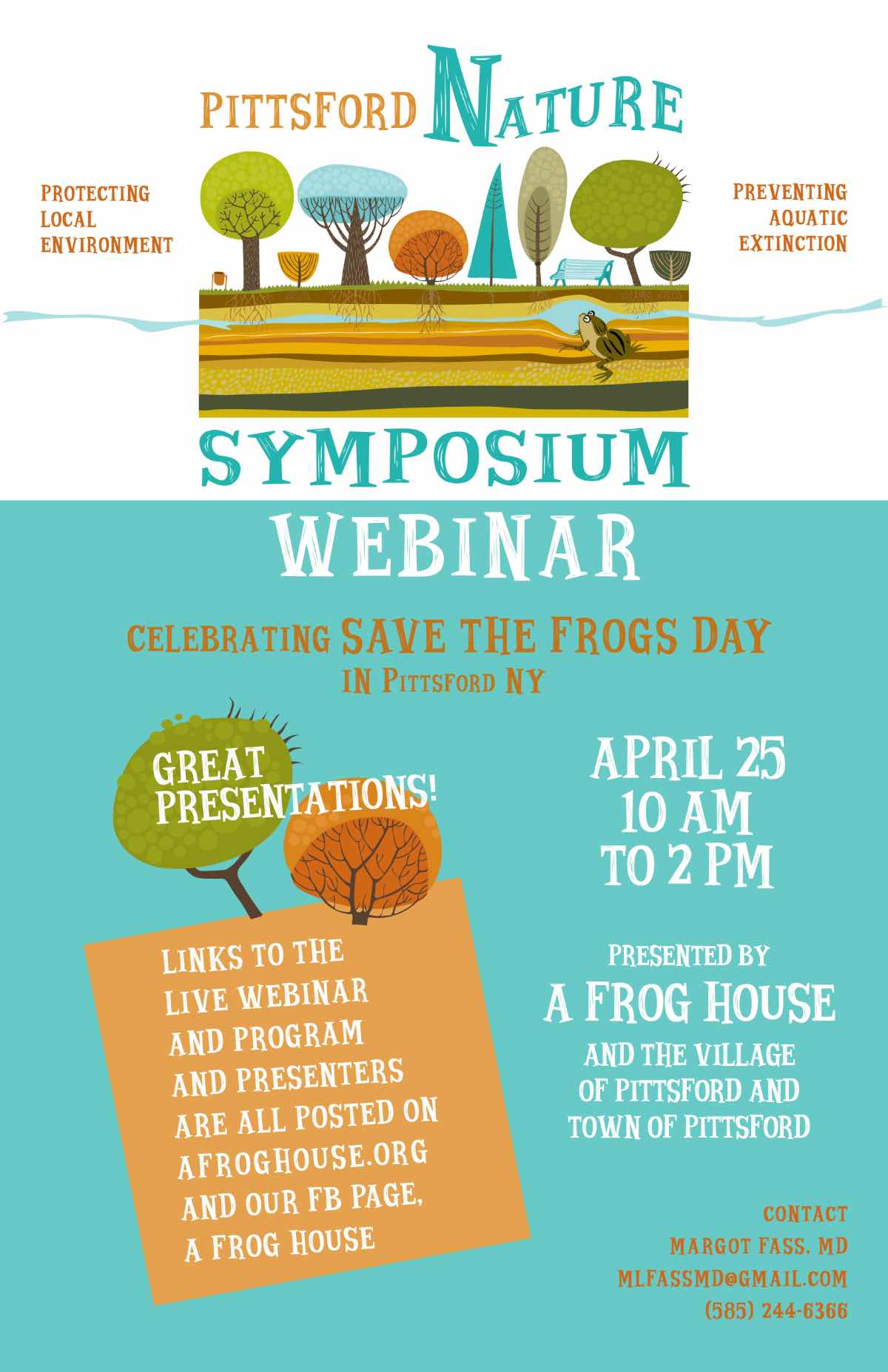When public gatherings aren't possible, a webinar may save the day.